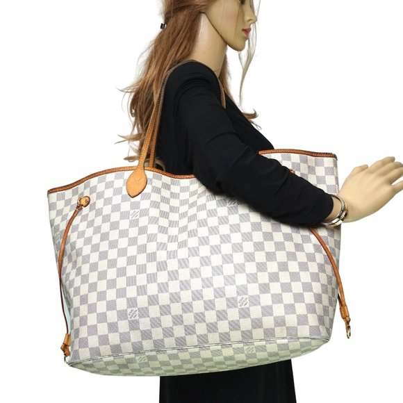 Auth Louis Vuitton Neverfull Gm Tote #8034L68